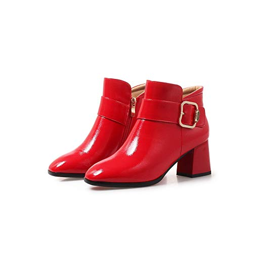 Rosso Con Donna Red Zeppa Frupxiq 1to9 Sandali Mns03515 35 WH2D9IEY
