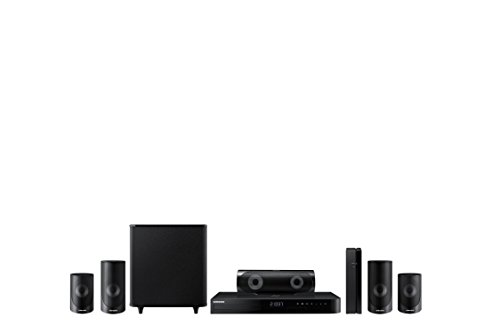 Electronics : Samsung HT-J5500W 5.1 Channel 1000-Watt 3D Blu-Ray Home Theater System (2015 Model)