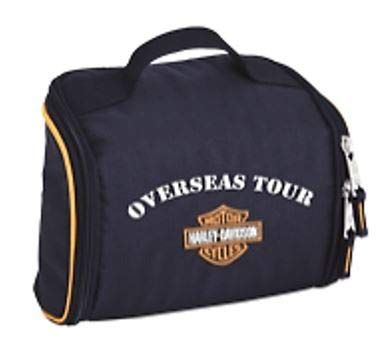 26690998032 Harley-Davidson Deluxe Fabric Toiletry Bag - Overseas Tour