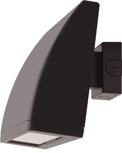 RAB Lighting WPLED104 Cool LED Wallpack, Aluminum, 104W Power, 8902 Lumens, 277V, Bronze Color by RAB Lighting