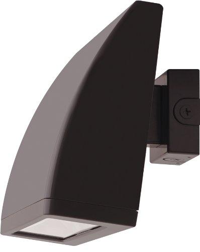 RAB Lighting WPLED104 Cool LED Wallpack, Aluminum, 104W Power, 8902 Lumens, 277V, Bronze Color