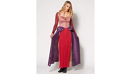 Hocus Pocus Sarah Sanderson Adult Costume Sanderson Sisters Group Costume Idea (Adult Small) Purple -