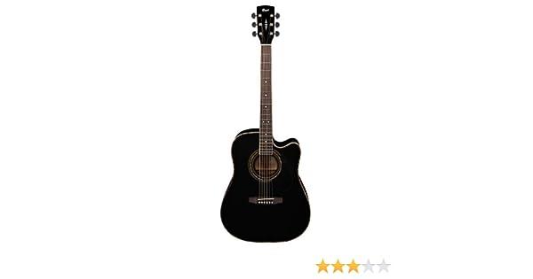 Cort AD880CE - Guitarra con estuche (calibre de cuerdas: 12-52), color negro brillante: Amazon.es: Instrumentos musicales