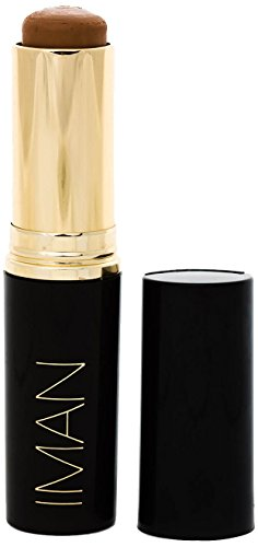 IMAN Cosmetics Foundation, Second to None Stick, Medium Skin, Clay 4