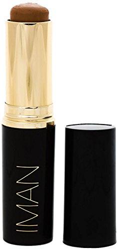 IMAN Cosmetics Foundation, Second to None Stick, Medium Skin, Clay 4