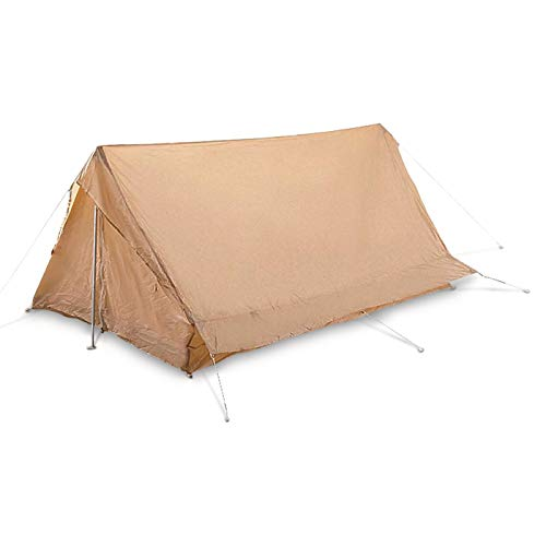 Surplus French Military F1 Tent, 2 Person, New, Sand