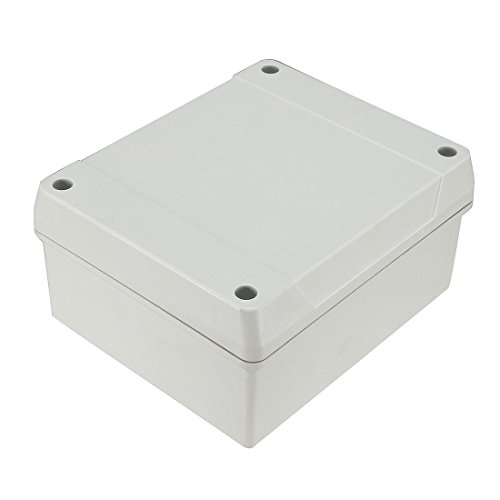 uxcell 5 5''x4 7''x2 8''(139mmx119mmx70mm) ABS Flame Retardant Dustproof  IP65 Junction Box Universal Project Enclosure w 5Terminal
