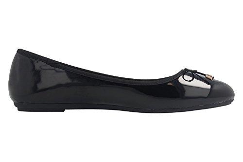 Fitters Footwear nero Ballerine donna Black drtqxdfw1Z