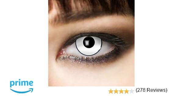 Leo Eyes Lentillas blancas, duración de 3 meses lentillas blancas ...