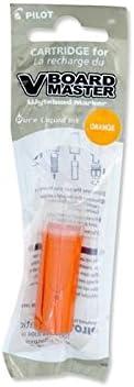 color Pilot Refill V Board Master Set of 3 orange