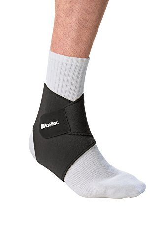 Mueller Ankle Support Neoprene Blend, Black, One Size