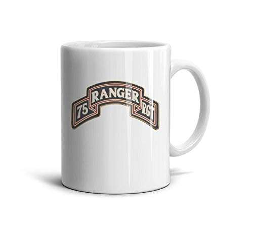 HMAG Coffee Mugs 75th Ranger Regiment Scroll Travel Mug Printing Cups