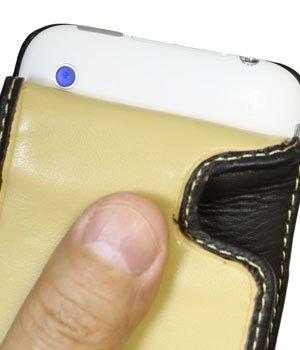 Melkco Tasche für Apple iPhone 3G / 3GS - Flip Type (Bi-color)
