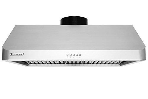 XtremeAir Ultra Series UL10-U30, 30'' width, Baffle filters, 3-Speed Mechanical Buttons,1.0 mm Non-magnetic S.S, Under cabinet hood