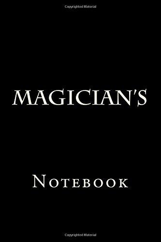 Download Magician's: Notebook PDF