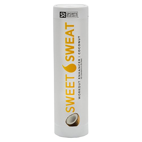 NEW: Sweet Sweat Coconut Stick - 6.4oz | Helps increase circulation, sweating and motivation during exercise | Made in the USA