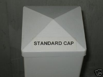 fence post caps 6x6 copper amazon vinyl standard pyramid cap patio lawn garden solar lowes canada