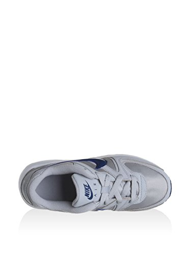 Nike 844347-041, Zapatos de Primeros Pasos Bebé-Niño, Gris (Wolf Grey / Coastal Blue / White), 28 EU