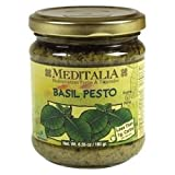 Meditalia Basil Pesto, 6.35 Ounce - 6 per case.