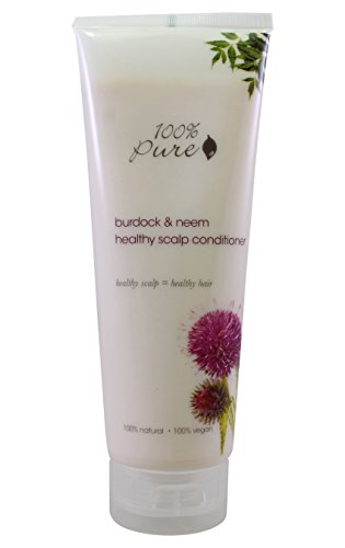 Organic Healthy Scalp Conditioner, 100% Pure Burdock & Neem