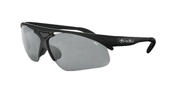 Amazon.com: Bolle Vigilante Sport anteojos de sol, negro ...