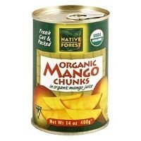 Native Forest Organic Mango Chunks, 14-Ounce Cans (Pack o...