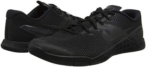 001 Chaussures Hyper Nike 4 Metcon Crimson Noir Gymnastics noir Hommes nxCBUORqwf