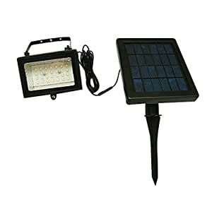 Reaiers 1.68W 28-light Modern Rechargeable Aluminum LED Solar Garden Light