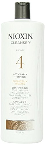 System 4 Cleanser For Fine Chemically Enh. Noticeably Thinning Hair Nioxin 33.8 oz Cleanser For Unisex U-HC-2182