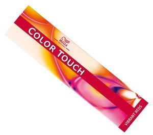 WELLA PROFESSIONAL HAIR DYE COLOR TOUCH VIBRANT REDS 7/43 MEDIUM RED GOLD BLONDE by WELLA (English Manual)