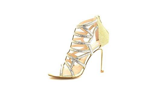Dames À Chaussures Or De De Parti Soirée Or Cage Scintillante Norta Mariage Argent Talon Argent Sandales 7w7xpqUXr