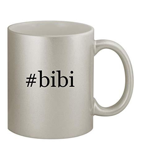 - #bibi - 11oz Hashtag Silver Sturdy Ceramic Coffee Cup Mug