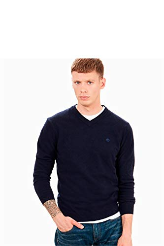 Timberland Factory® V Sweater Genius Wool Cuello En 0B0vwq