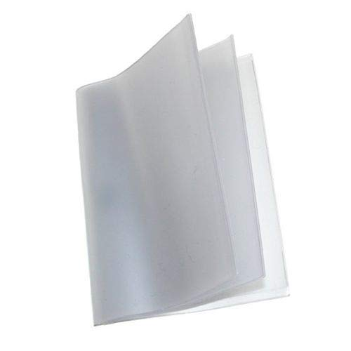 Buxton Vinyl Window Inserts for Bifold and Trifold Wallets (Pack of 2), Clear