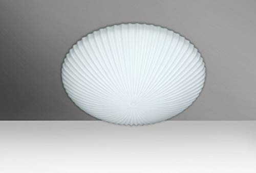 - Besa Lighting (945007C-LED) Katie 12 Ceiling with Opal Matte Glass Décor