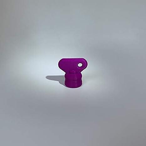 3DJ - Flor de Masa para Robot de Cocina Aldi Quigg, Color Lila: Amazon.es
