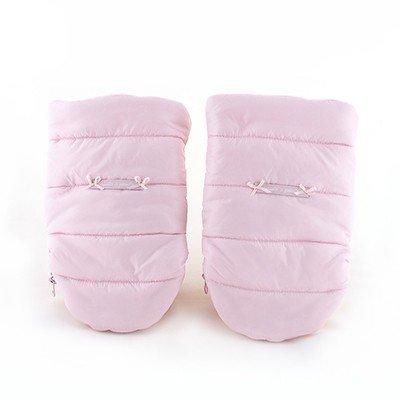 Pasito A Pasito - Guantes para silla de paseo universal montblanc rosa: Amazon.es: Bebé