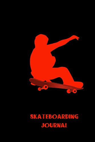 skateboarding journal: small lined Skateboarding Notebook / Travel Journal to write in (6'' x 9'') 120 pages por Do a simple easy funny jump press
