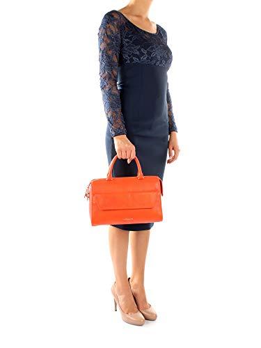 Sacs Femme à Lancaster 52912 main Cuir Orange vdZFWqnf