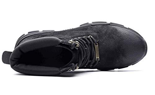 Mens Combattimento Stivali Punta Da Britannica Up Inverno Rotonda Lace Boots Black Warm Martin Autunno Tendenza 38EU qwrzxPRq
