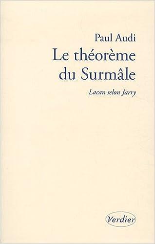 Livres gratuits Le théorême du Surmâle : Lacan selon Jarry epub, pdf
