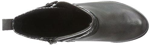 Marco Tozzi Premio 25309 - botas de material sintético mujer gris - Grau (Grey Antic Com 202)