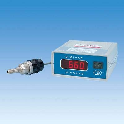 60Hz ACE Glass Incorporated Piezoelectric Transducer Type 115 Volts 1-760 Torr ACE Glass 14034-38 Digivac Digital Vacuum Gauge with LED Display