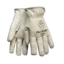 Work Gloves Top Grain Cowhide - 6