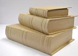 Tamaño Extra grande tipo libro caja de papel maché para decorar 21 ...