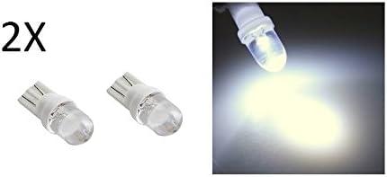 Luces de posición T10 para coche (2 unidades, lamparita LED blanca ...