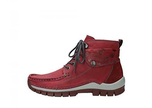 59530 donna Sneaker Wolky Bordeaux Cuir qX4R4xWw