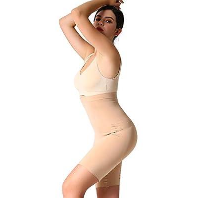 JOJOANS Women's High Waist Tummy Control Shapewear Butt Lifter Shorts Thigh Slimmer