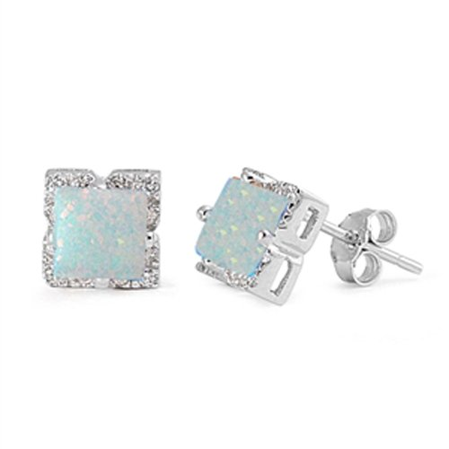 lab-created-white-opal-square-stud-925-sterling-silver-earring-white-opal