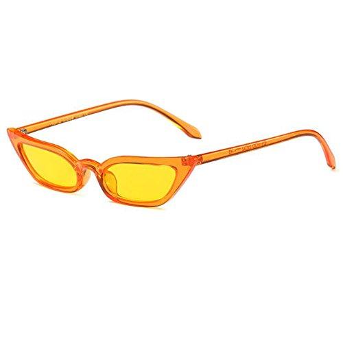 de Gafas Gafas pequeño Gafas sol de de C1 de Hzjundasi marco gato ojos sol Vintage de de sol q1dPw6PI